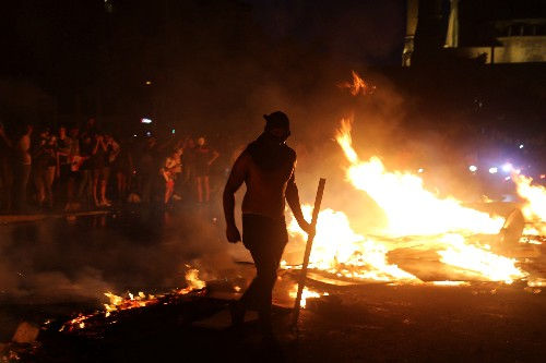 Protests sweep Lebanon as fury at ruling elite grows over economic corruption