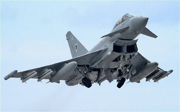 RAF Typhoons intercept Russian bombers