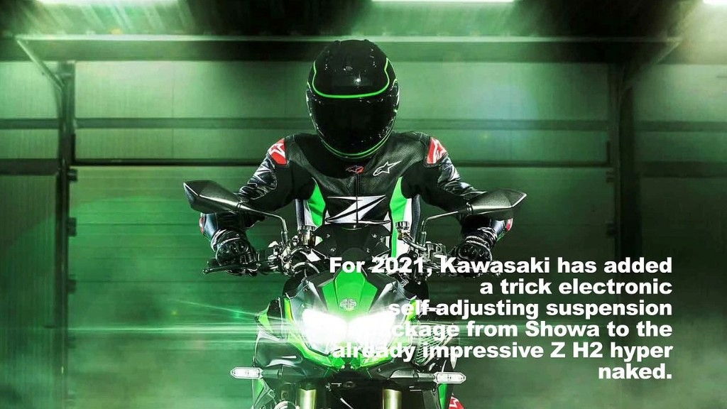 2021 Kawasaki Z H2 SE First Look Preview