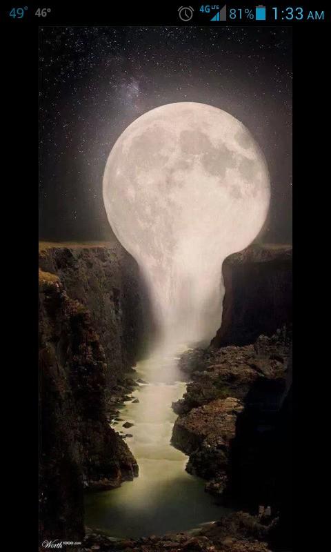 #moonfalling #peaceful