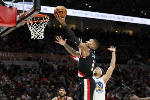 NBA roundup: Lillard scores 61 in Blazers' OT win