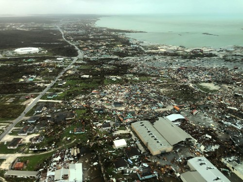 The Incredible Damage From Hurricane Dorian: Pictures