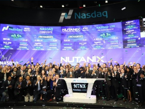 In a good sign for the tech industry, tech unicorn Nutanix's IPO pops a huge 90%