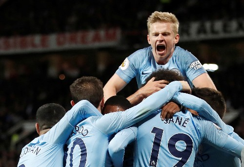Soccer: Manchester City, Liverpool dominate PFA team of the year