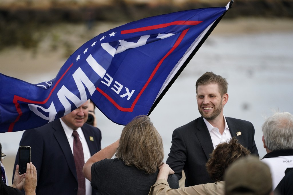 Judge: Eric Trump must testify in NY probe before election
