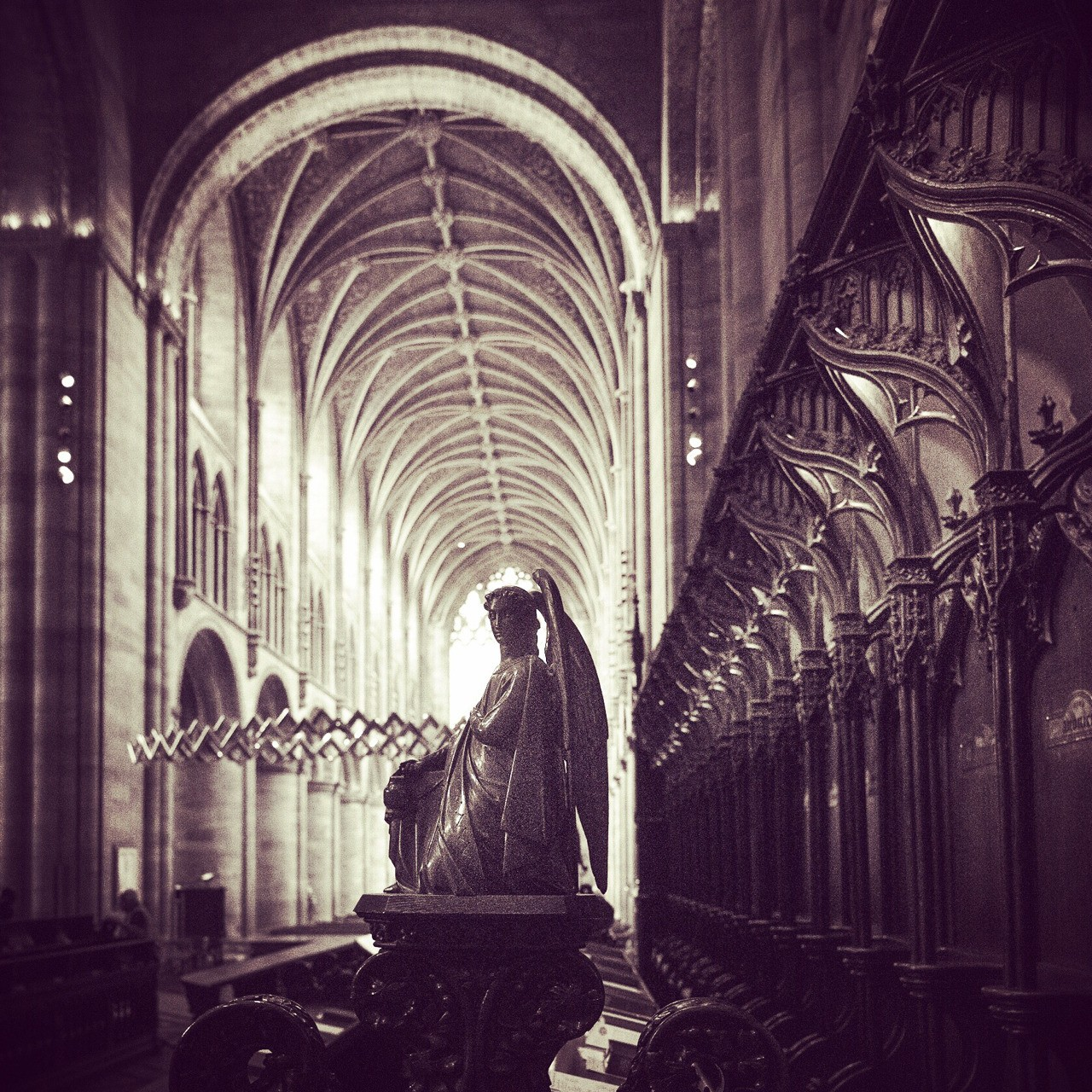 The Angel at Hereford Cathedral - follow me on Insta: @fotofacade