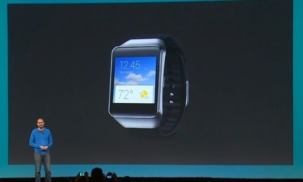 Samsung Gear Live smartwatch will run Google's Android Wear software