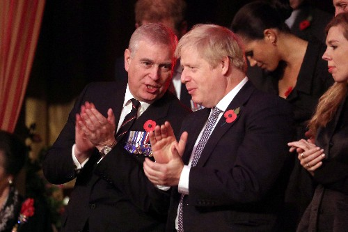 British PM Johnson steers clear of Prince Andrew scandal