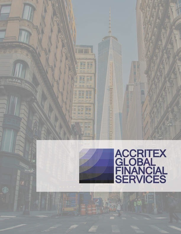 Accritex Global Financial Services - Magazine cover