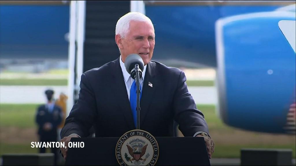 Pence in Ohio: Trump 'won debate hands down'