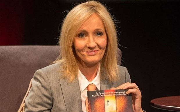 JK Rowling's crime novels to be turned into BBC series