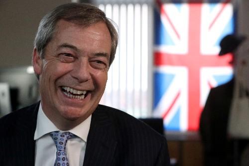 Brexit crusader Farage: 'I'll miss playing the villain'