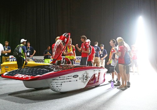 Preparing for the World Solar Car Challenge: Pictures