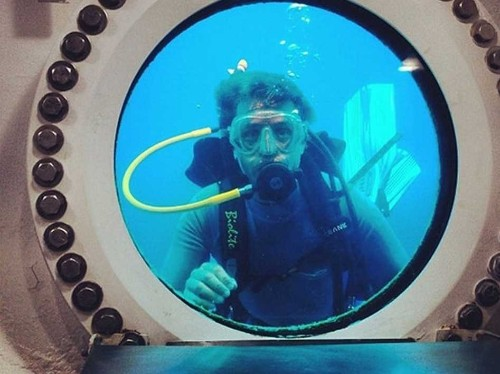 Jacques Cousteau's Grandson Is About To Emerge From A Record-Breaking Stay Underwater