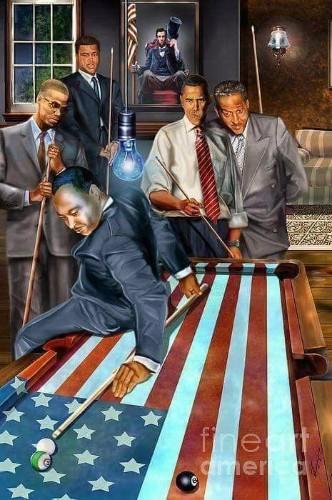 Pres. BH Obama & FLOTUS Michelle Obama - cover