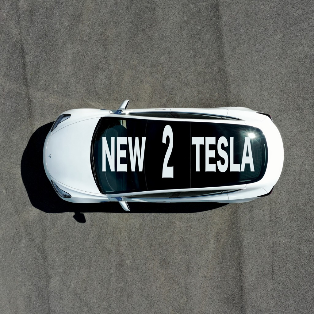 NEW2TESLA - Cover