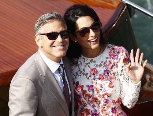 George and Amal Tie the Knot