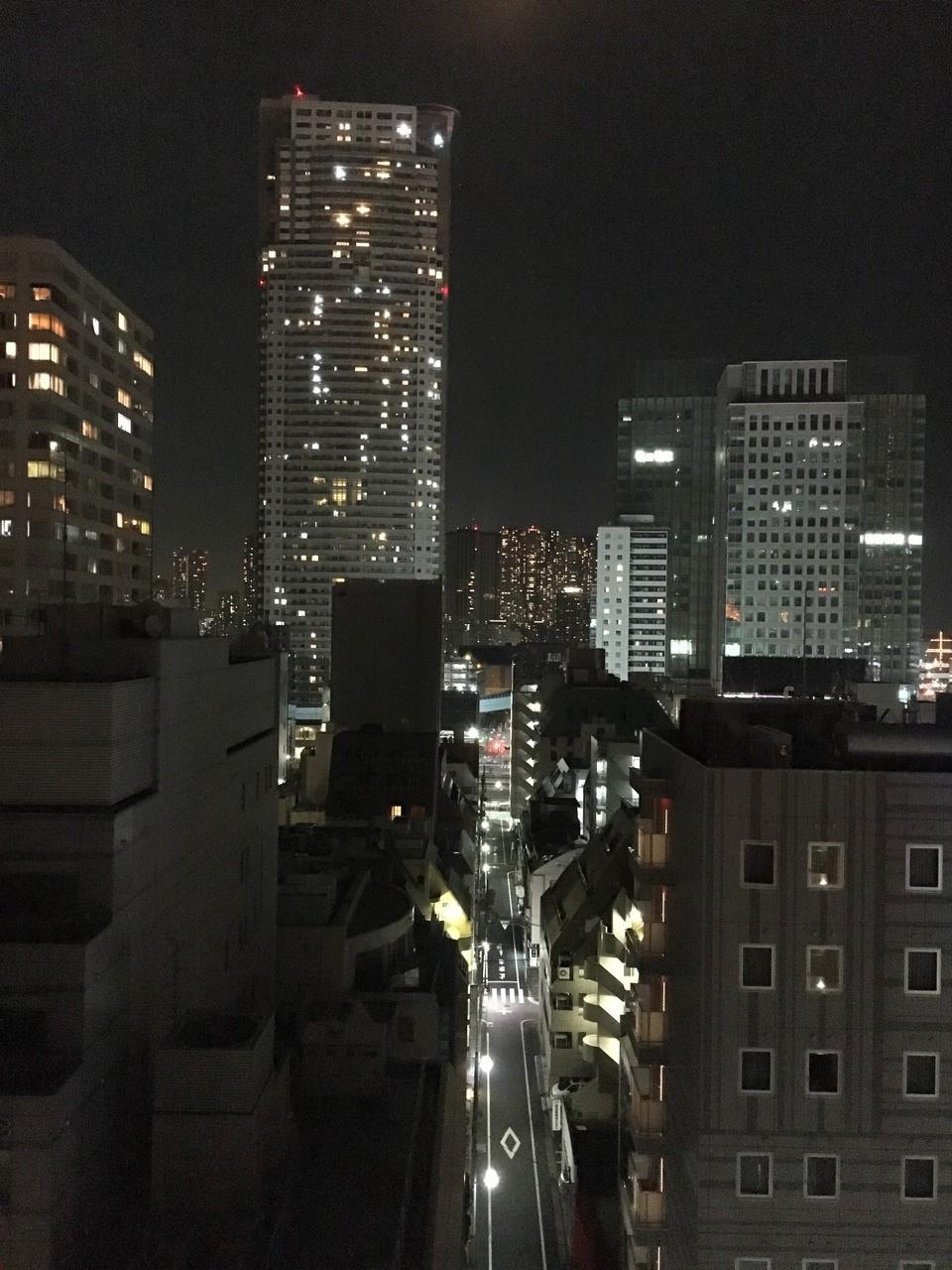 Tokyo's night