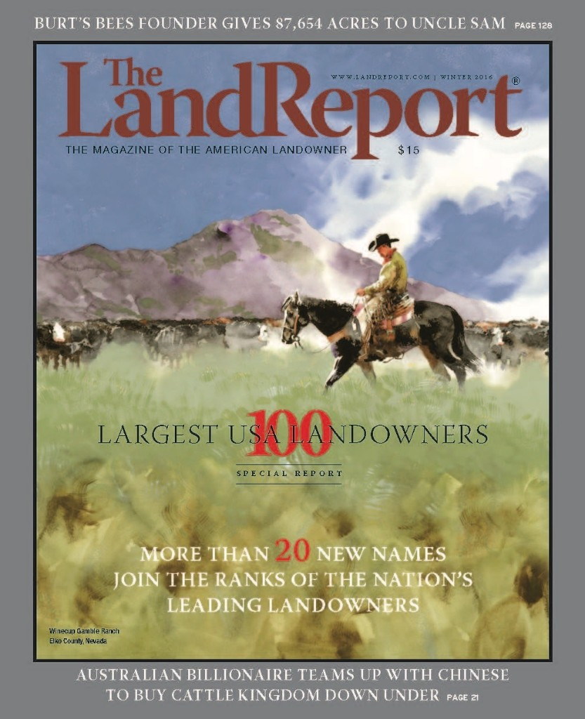 THE LAND REPORT | WINTER 2016 - cover