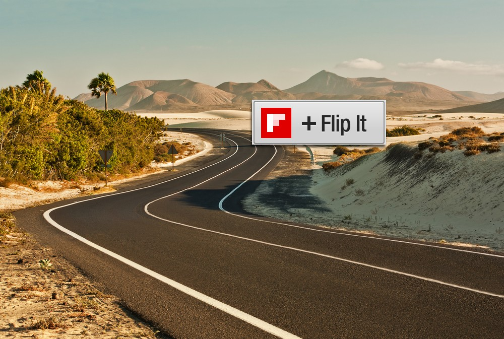 Test Drive the Flipboard Bookmarklet