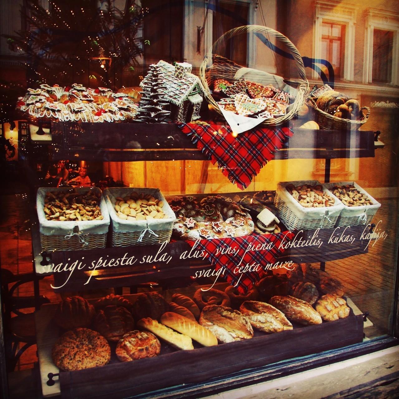 里加🇱🇻的甜品店,做工精细,而且超级好吃