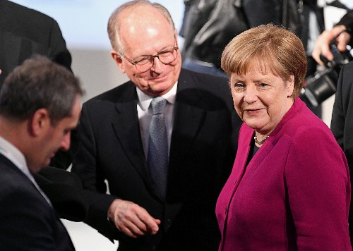 Pence chastises EU, rejects Merkel's call to work with Russia