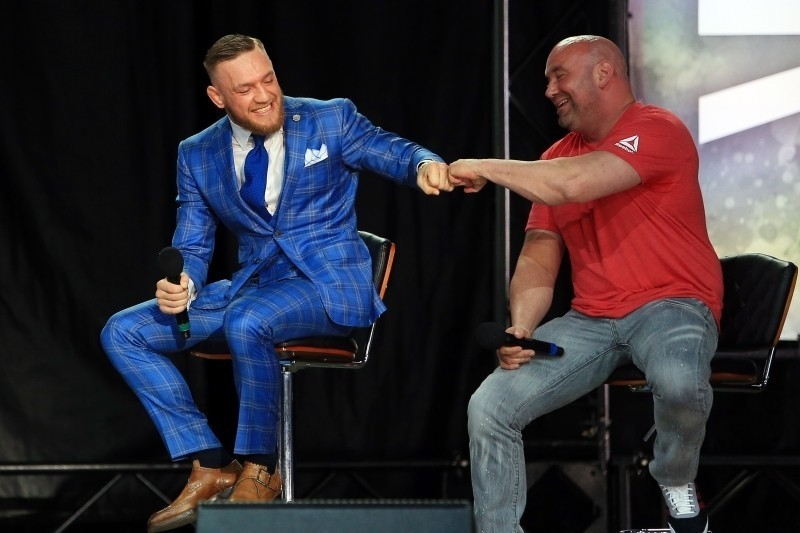 How Can Conor McGregor Top the Floyd Mayweather Fight? How About UFC Ownership?