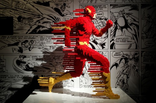 Super Heroes in Legos: Pictures