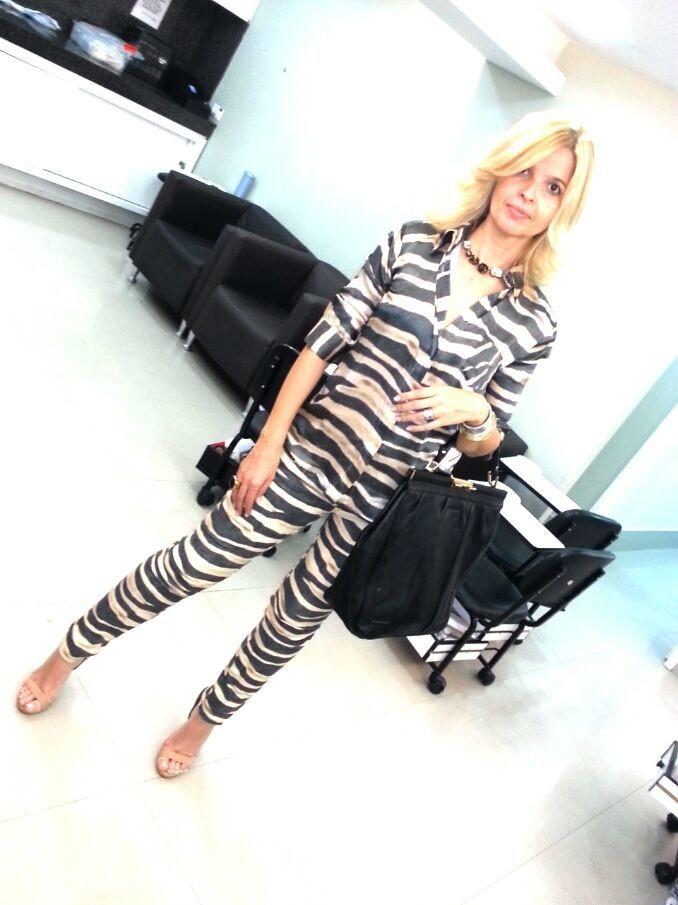 Eliane Beckauser- Blond hair-Torriton