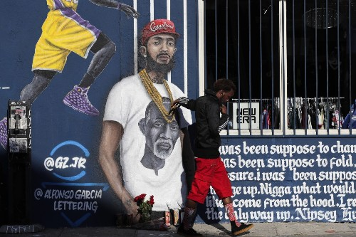 Paying Respects to Nipsey Hussle: Pictures