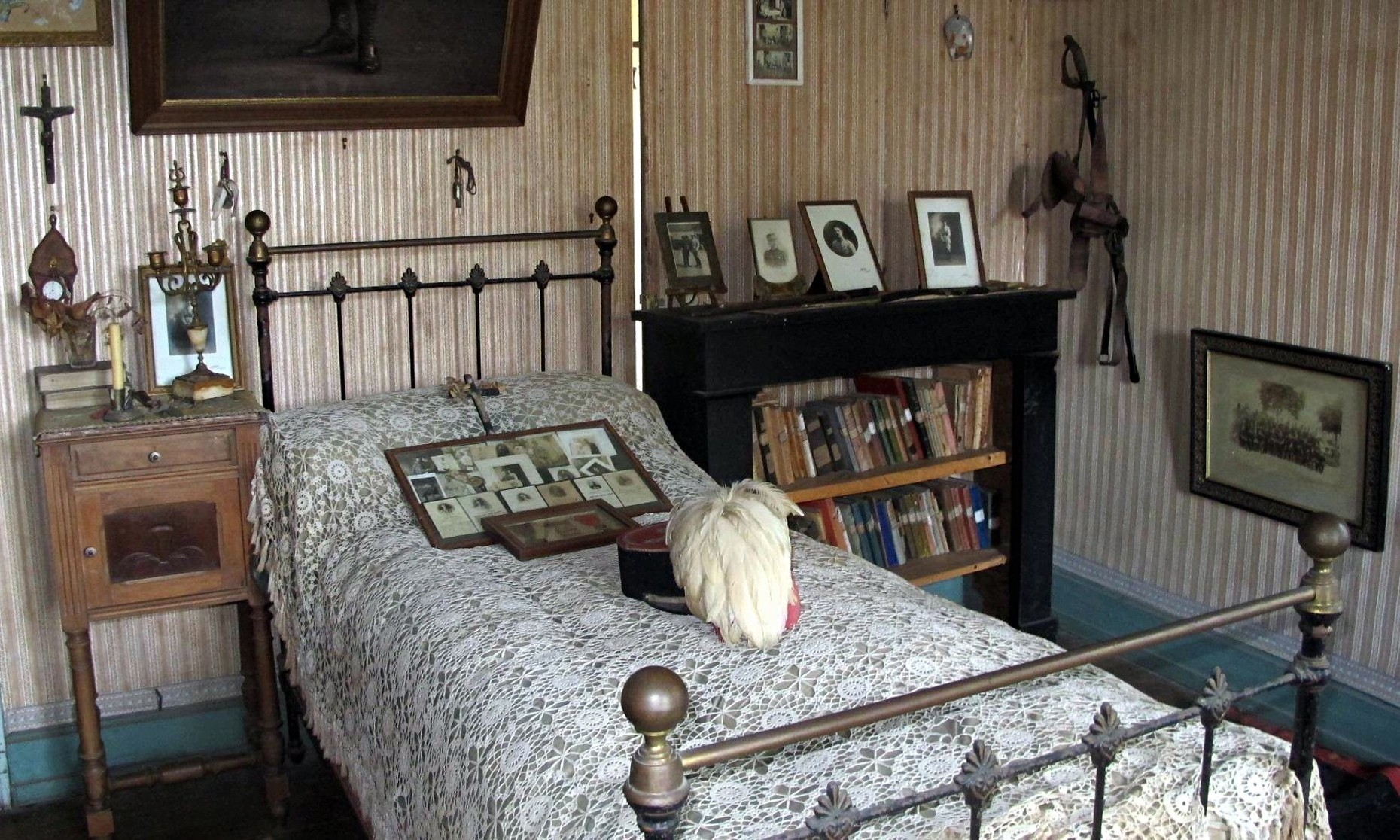French soldier's room unchanged 96 years after his death in first world war