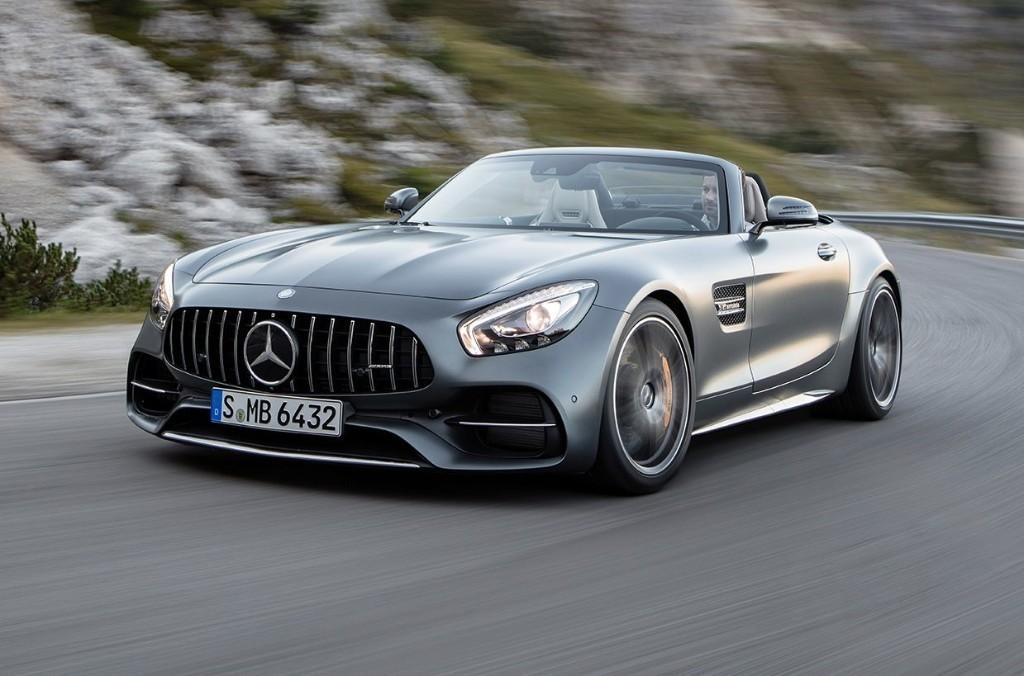 Mercedes-AMG GT C, GT Roadster Revealed Ahead of Paris Debut