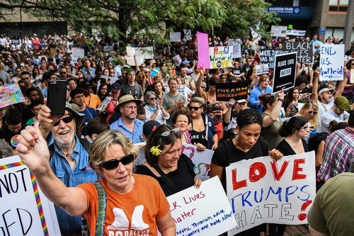 Boston 'free speech' rally ends early amid flood of counterprotesters; 27 people arrested