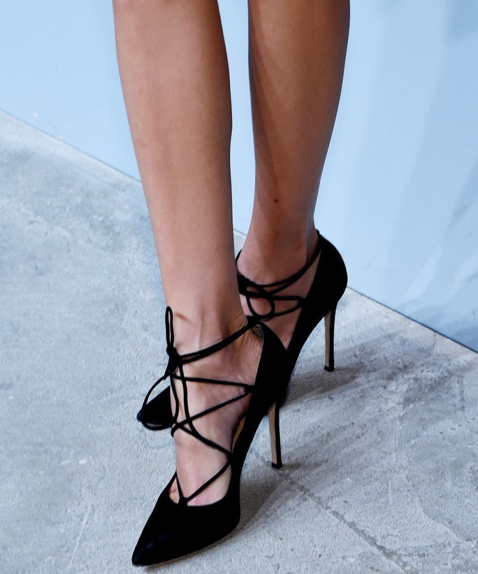 Shop 10 of the Sexiest Black Lace-Up Heels for Fall