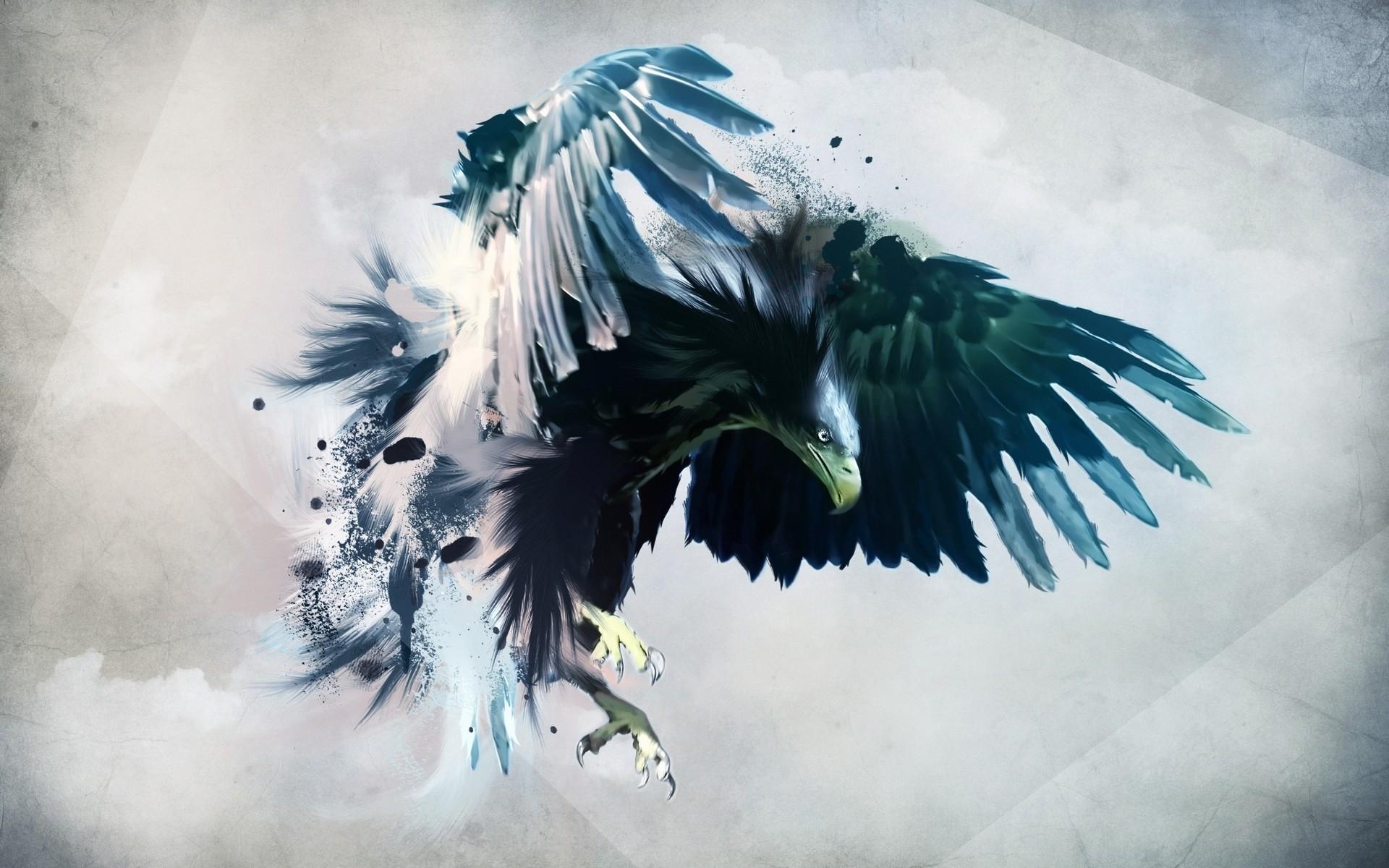 Fantástica águia