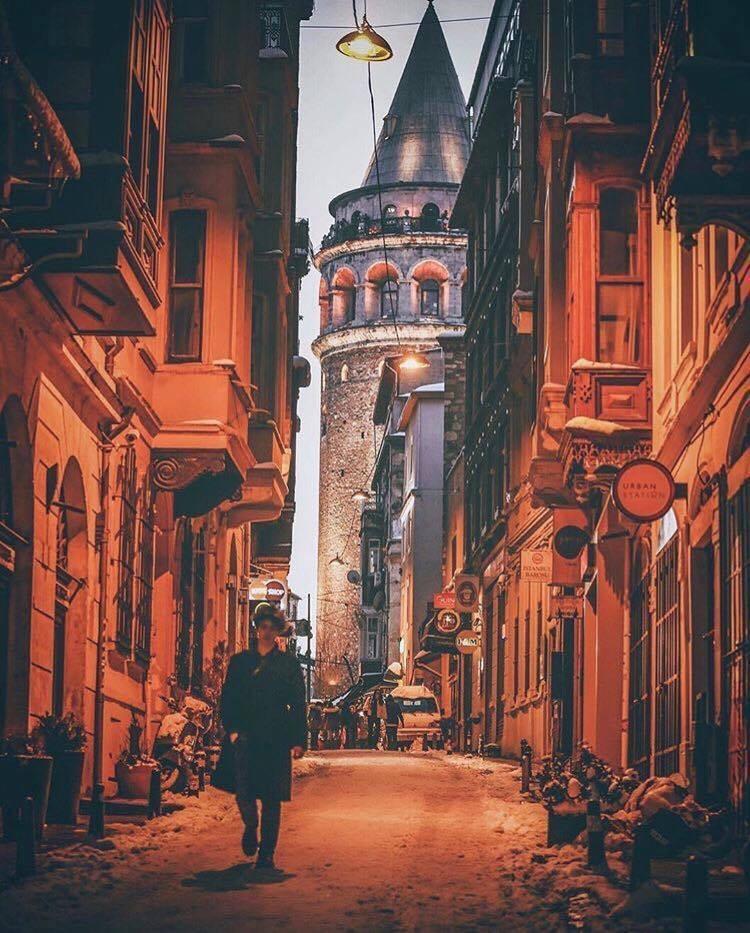 İstanbul kadar güzelsin.