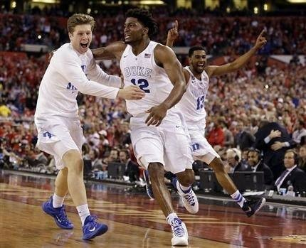 The Latest: Duke holds off Wisconsin to win national title