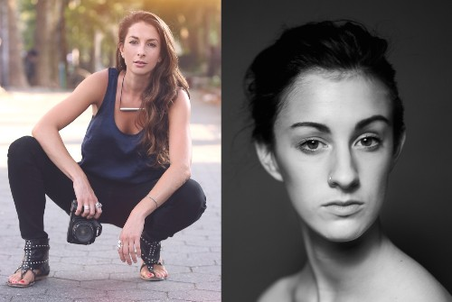 THE SHOOTERS: Erica Simone and Jaci Berkopec