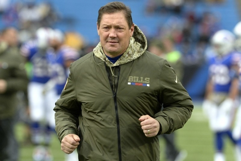 Rick Dennison Fired as Bills OC After 1 Season