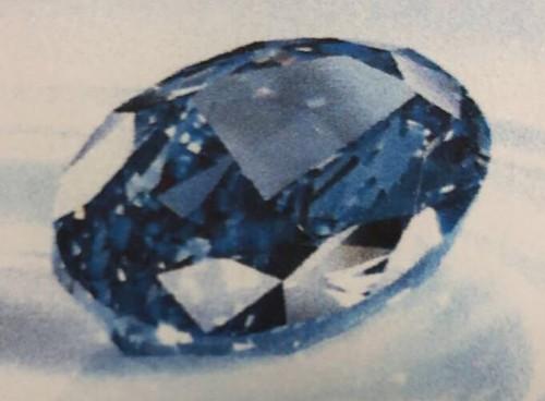Dubai police recover rare $20 million stolen blue diamond