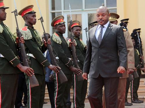 Burundi authorities detain schoolgirls accused of scribbling over president's picture