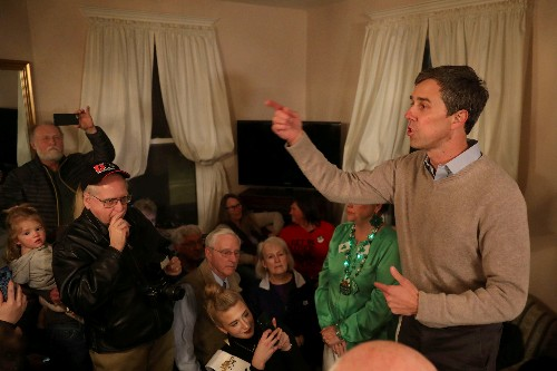 Democrat O'Rourke tops field, raising $6.1 million on day one of presidential campaign