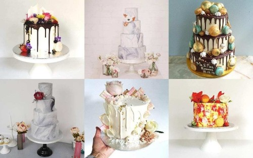 From dip-dye to marble: 2016's hottest wedding cake trends