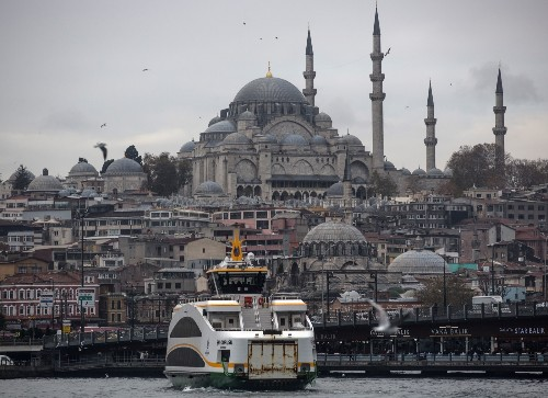 Commuting on the Bosphorus in Turkey: Pictures