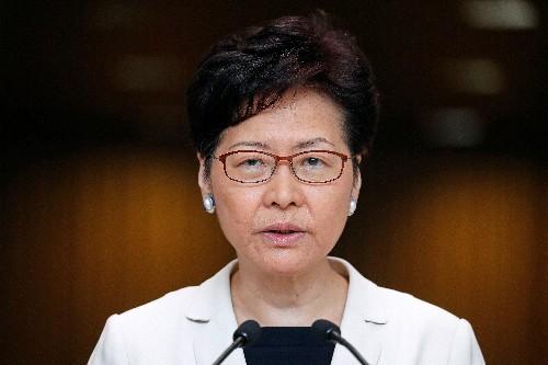 No loudhailers, umbrellas allowed at talks with Hong Kong leader