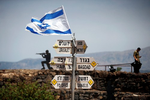 U.S. preparing official document on recognizing Israeli sovereignty of Golan Heights: source