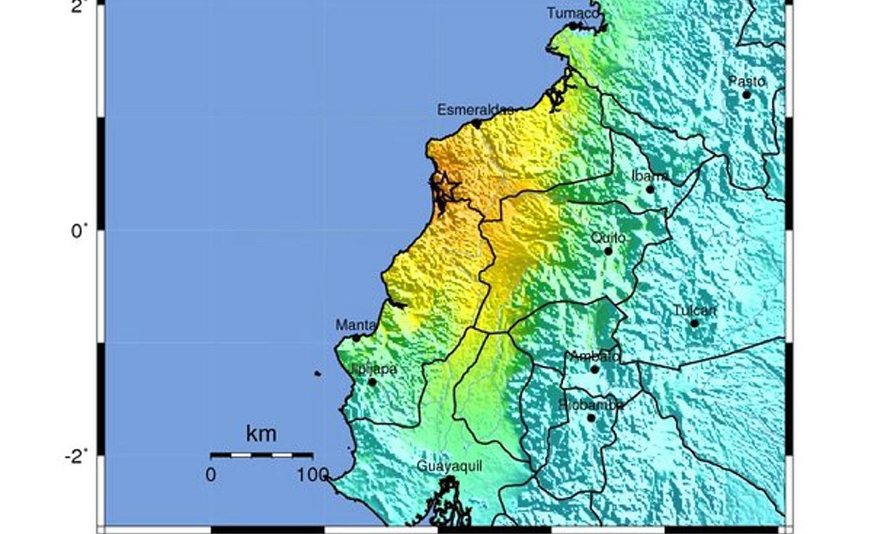 Dozens killed as 7.8-magnitude earthquake hits Ecuador