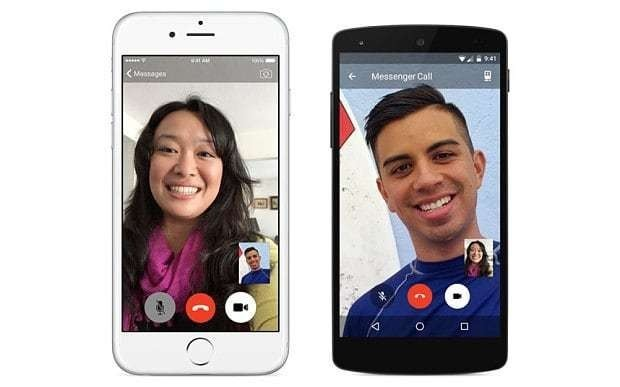 Facebook takes on Skype and FaceTime with mobile video calling