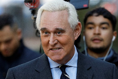 Long-time Trump adviser Stone to be sentenced by judge he antagonized