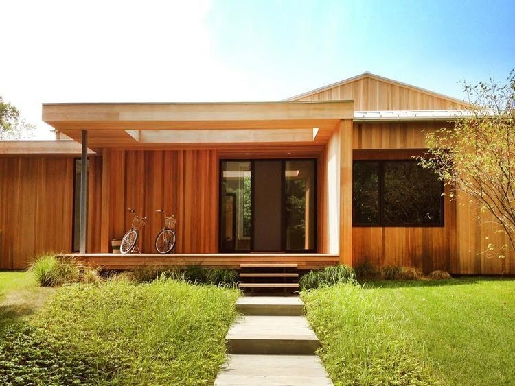Articles about renovation simplifies life wood beach house hamptons on Dwell.com